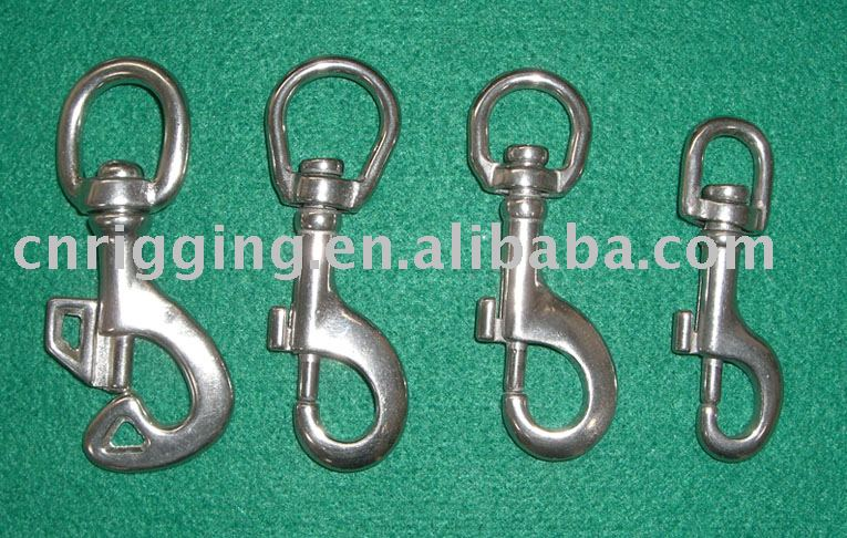 swivel head key snap hook
