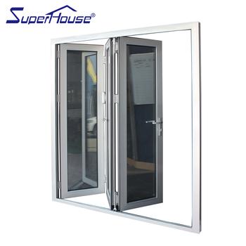 New Design Customized Bifold Shower Door Australia Standard