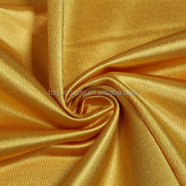 warp knitted 100% polyester tricot dazzle fabric for basketball uniform