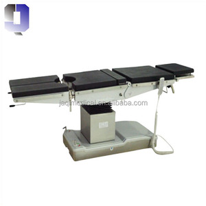 JQ-DST-1 Hosppital used medical Surgical instruments Stainless Steel frame electric operating table