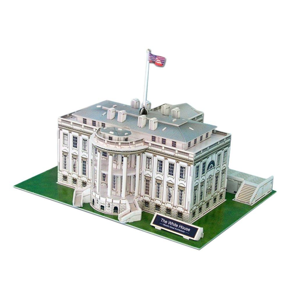 The White House 3D Puzzle, 64 Pieces
