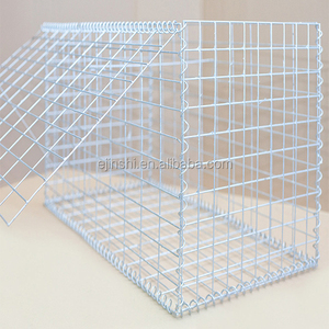 Super quality welded galvanized gabion basket/gabion box price