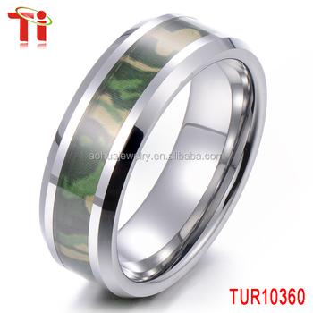 Tungsten Carbide Ring Camo Ring