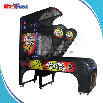 Popular Sales! Basketball Shooting Arcade Game Machine,Indoor ...