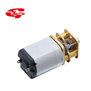 Low noise high torque dc gear motor for smart electronic lock N20