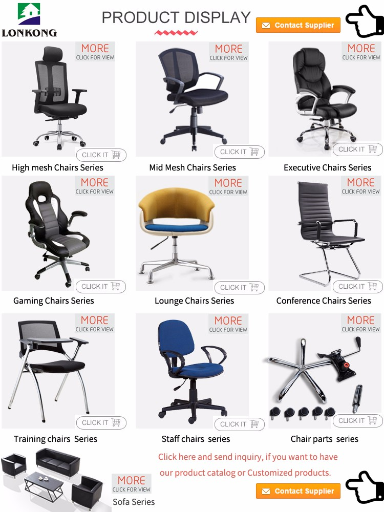 Leather Office Chair Parts Swivel Stainless Steel Wheel Revolving Armchair Base Stand