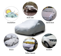 3 layers Car Cover Hail Proof Car Cover non woven car cover