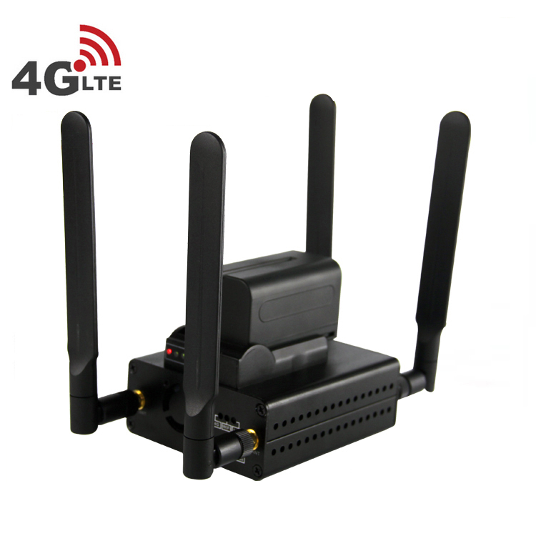 4G LTE wifi Video Encoder with Built-in Battery HD HDMI Encoder internet broadcasting equipment