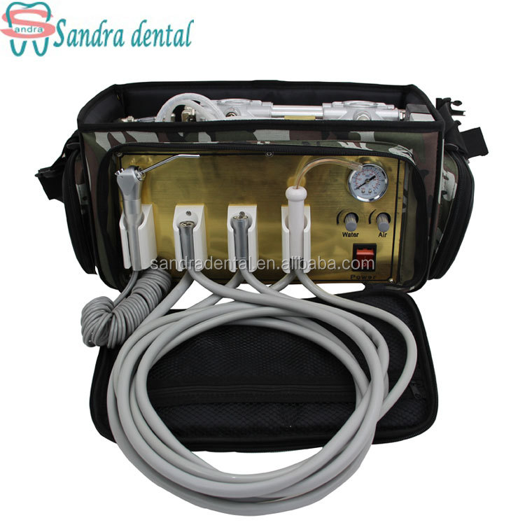 New type The most popular backpack type best low price portable dental unit