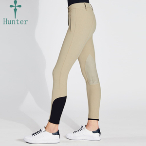 2019 Equestrian Clothing Fashion Horse Ridding Pants Women Custom Full Seat Silicone Breeches