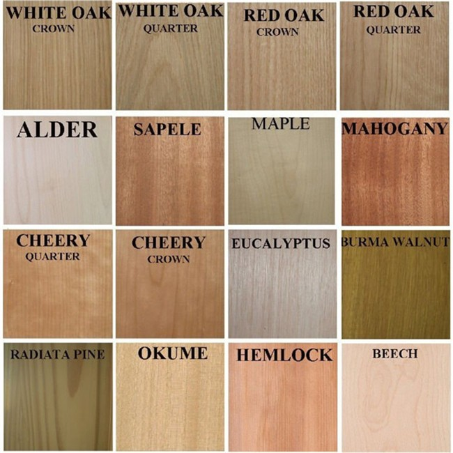 Plywood prices veneer sliced cut recon wooden door for Birch wood cost