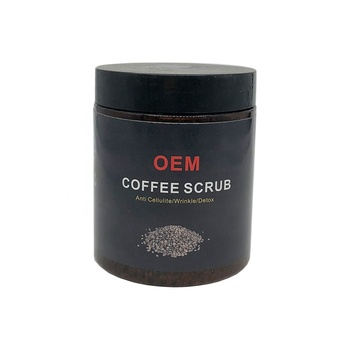 New Product OEM Wholesale 100% Organic Moisturizing Coffee Scrub Private Label