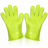 Funny Five Fingers Waterproof Silicone Heat Resistant Gloves With FDA&LFGB Approval