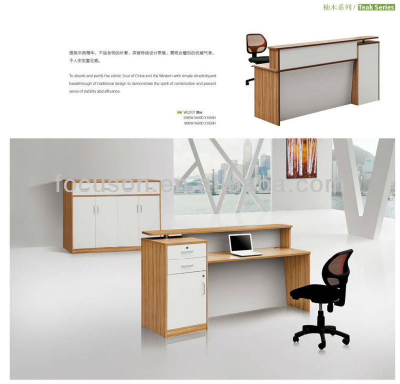 front desk furniture design. Fks-wmt-wq101 Office Furniture Modern Design Reception Desk Front - Buy Small Desks Desk,Office Partition
