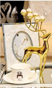 Halloween/Thanksgiving/Christmas/April Fools ' Day Gifts ,Holiday gifts, birthday gifts Day Gifts Neo-classical ideas romantic deer decoration home decoration candle holder ornament