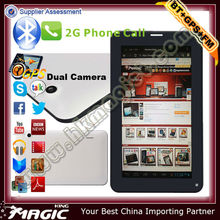 Brand new 7 inch cheap gsm android phone calling tablets