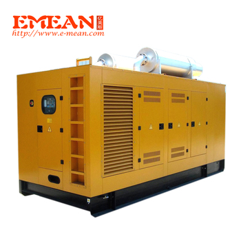 White type 800kw 1000kva diesel generator with CE