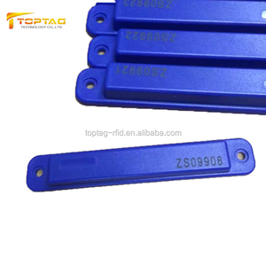 Long range Number Laser Printing EPC Gen2 Reusable Rfid Tag for Outdoor Use