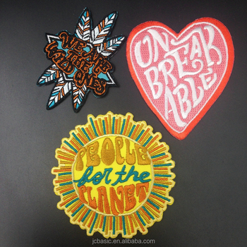 custom iron on patches wholesale