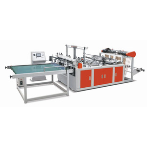 XD-F400 Double Lines Plastic Flat Bag Making Machine
