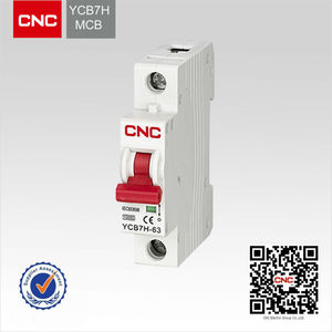 YCB7H box rcbo general electric circuit breaker