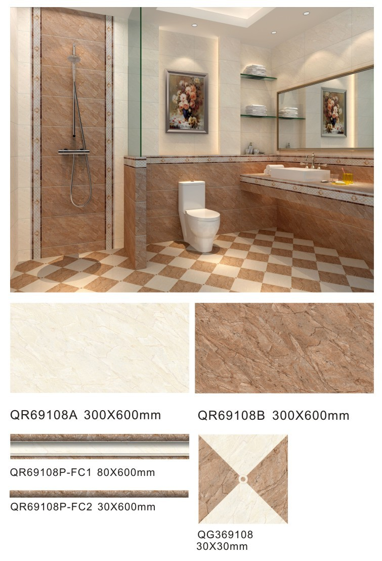 Top quality 300x600mm 10mm ceramic tile thickness for bathroom top quality 300x600mm 10mm ceramic tile thickness for bathroom doublecrazyfo Choice Image
