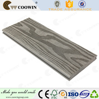 Barefoot friendly composite materials solid plastic lumber