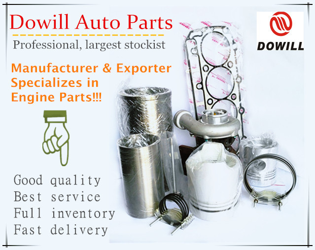 6D16 Cylinder Liner, 6D16 Cylinder Sleeve, 6D16 engine parts