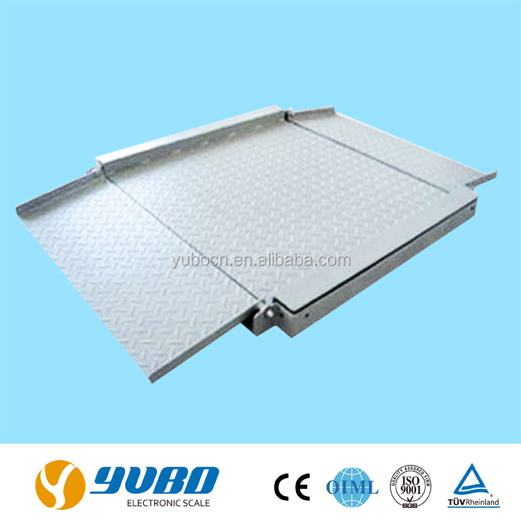 2t digital electronic weighing used floor scales