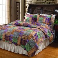 king size ultrasonic quilt cover set