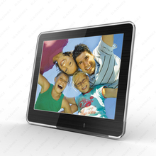 2014 New 8 inch Fashion HD Digital Photo Frame with Clock & Calendar function, MP3, Light Sensor, Gift