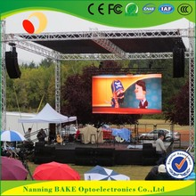 P6 outdoor rental stage seamless led display nation star led