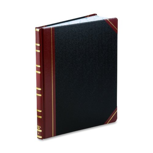Boorum & Pease Bound Columnar Book, 1-Page Form, 300 Pages, Faint Ruled, 12-1/4 x 10-1/8 (1602 1/2-300-F) by Boorum & Pease