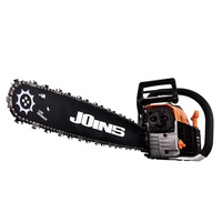 In India Cheap Price Chinese 5800 Gasoline Wood Cutting Machine 2.4kw 58cc Petrol Chainsaw