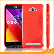 S Wave Soft Mobile Phone Cover TPU Gel Case Shell For ASUS ZenFone Max ZC550KL ZenFone 5000 Accessory