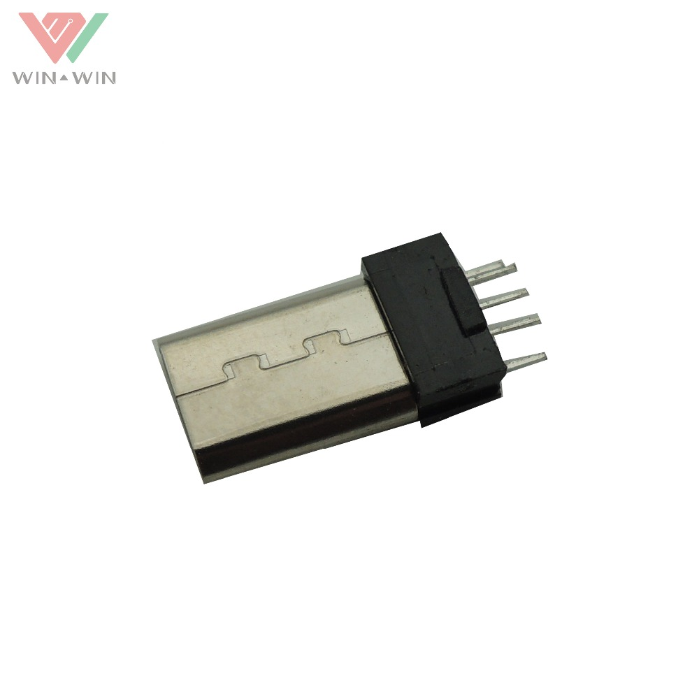 High Quality Micro Usb 5 Pin Male PCB Connector