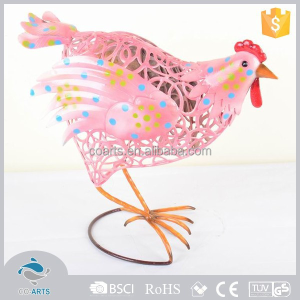 Factory supply good quality cast beautiful iron garden ornament