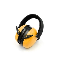 safety bulk custom hearing protective PVC earmuff for industrial with package