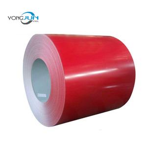 Color coated prepainted gutter aluminium coil prices