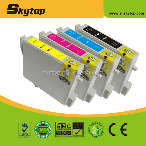 Hot! printer ink cartridge for EPSON T0611 - T0614 alibaba china