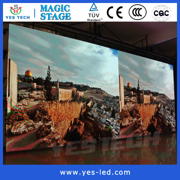 big photos led screen indoor P4.46 dynamic led board display