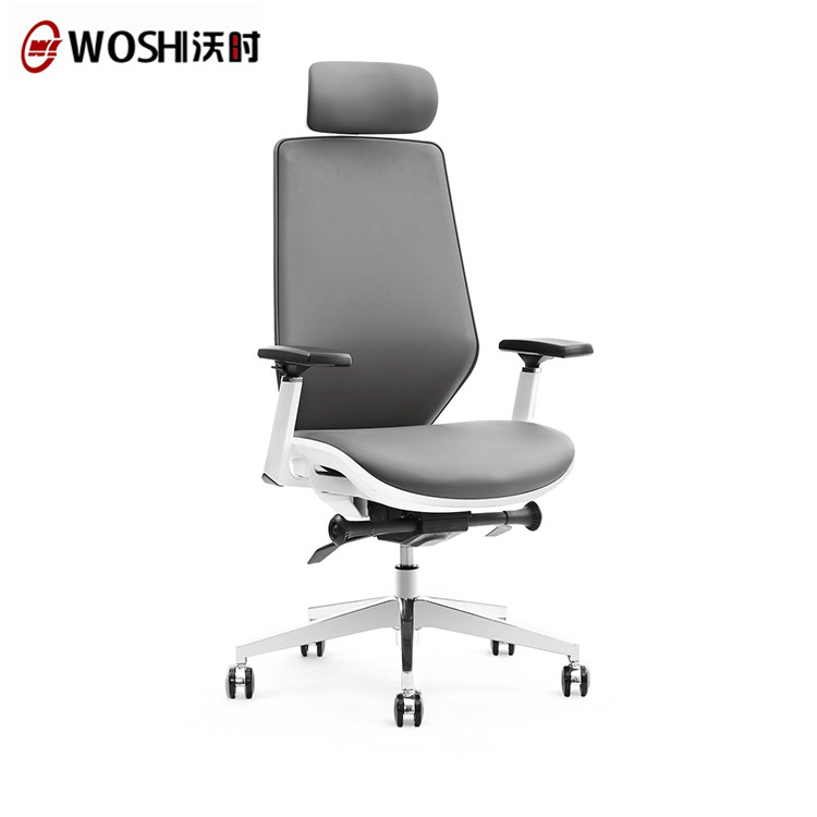 ISO Midback Ergonomic White Office Chair,Manager Rolling Ergonomic Office Chair Autonomous