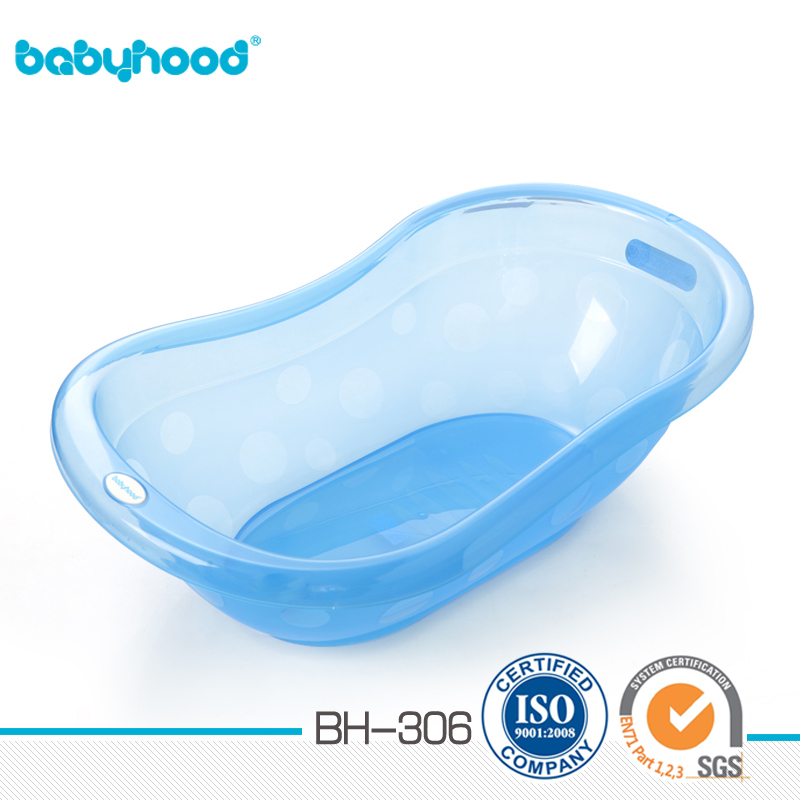 Simple Transparent Bathtub For Baby - Buy Baby Plastic Bathtub,Baby ...