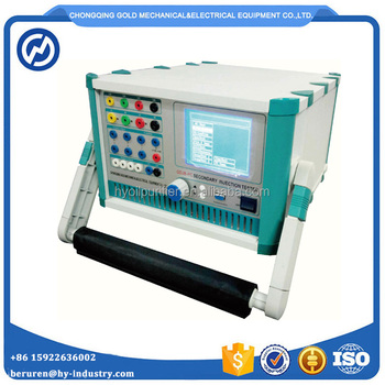 Automatic Three Phase Relay Protection Tester