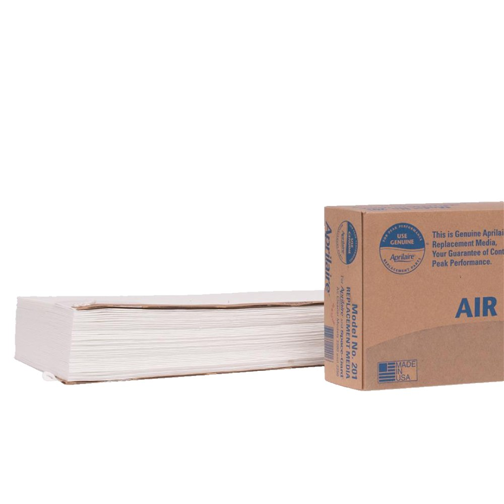Aprilaire 201 Air Filter for Aprilaire Whole Home Air Purifier Models: 2200, 2250, Space-Gard 2200, MERV 10 (Pack of 2)