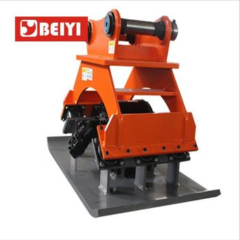 hydraulic Compactor manufacture BEIYI series BYKC150 vibrating plate compactor