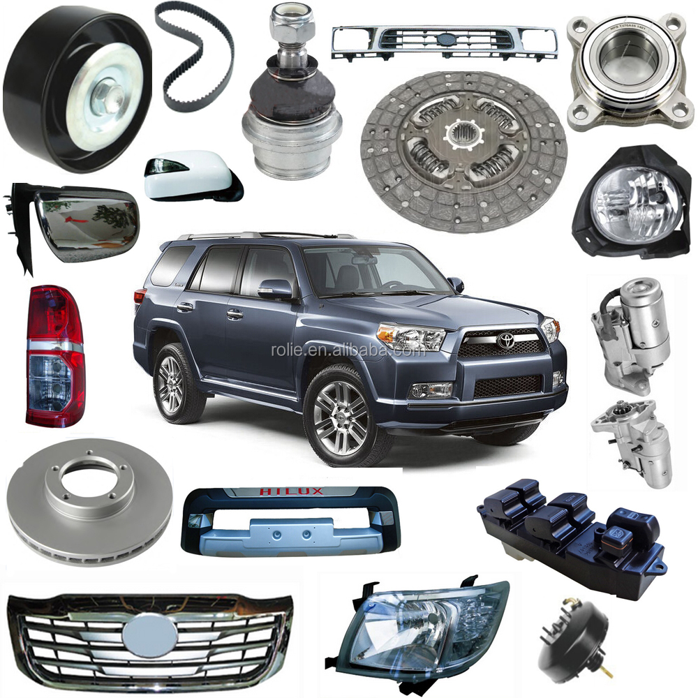Toyota Truck Aftermarket Parts: One-stop Auto Spare Parts With Lamp Mirror Bumper Brake