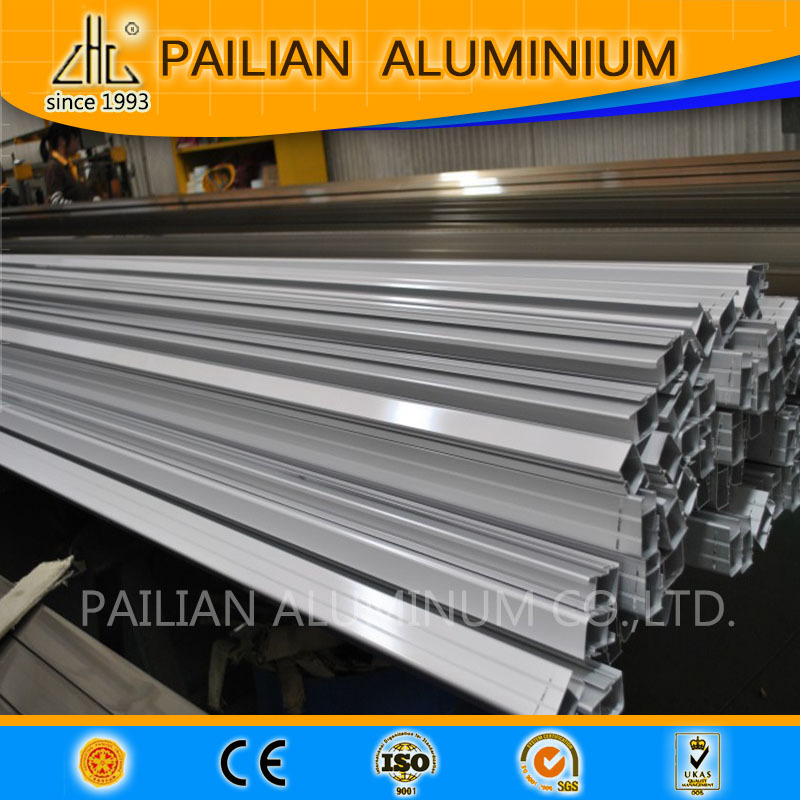 Colors aluminium hollow tube /aluminium square tube profile /5.8m aluminium tube pipe