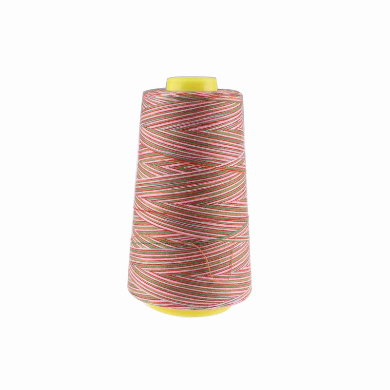 Multicolor sewing thread 3000Y/Spool 40S/2 Polyester sewing threads industrial sewing thread from sewing supplies