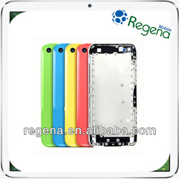 2015 hot selling new product back cover for apple iphone 5C back cover housing replacement